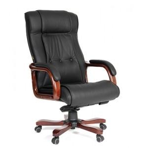 Кресло для руководителя  CHAIRMAN 653 кожа