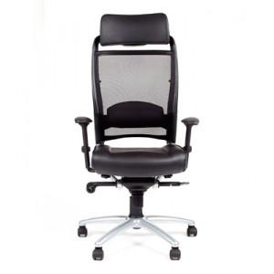 Кресло для руководителя CHAIRMAN 281A хром