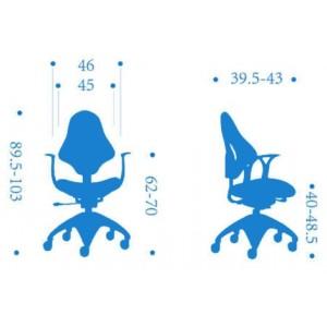 Детское компьютерное кресло Falto Kids Mesh