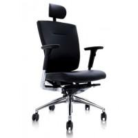 Эргономичное компьютерное кресло Duoflex Leather (натур. кожа)