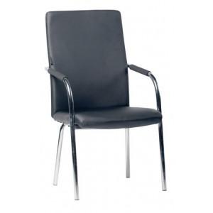 Кресло для посетителей Loki Black