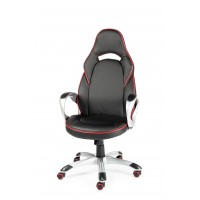 Кресло для геймера игровое MUSTANG X BLACK-RED - МУСТАНГ