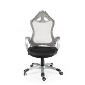 Кресло для геймера игровое TESLA SILVER - ТЕСЛА