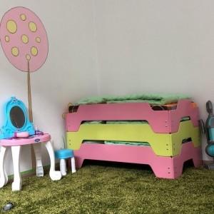 Кровать детская штабелируемая