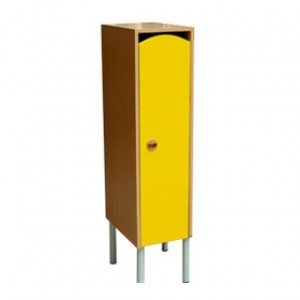 Шкаф 1-но секц. на металлокаркасе