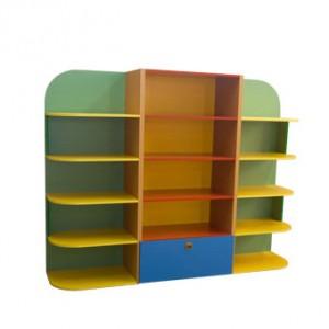 Стенка для игрушек 3-х секционная
