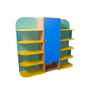Шкаф для игрушек 3-х секционный