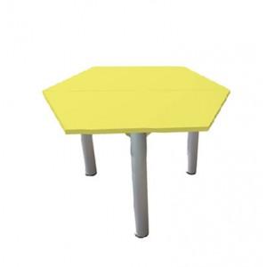 Стол шестигранник на рег. ножках