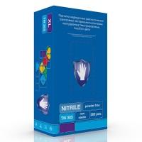 Перчатки нитриловые неопудренные упаковка 200шт. (100 пар)