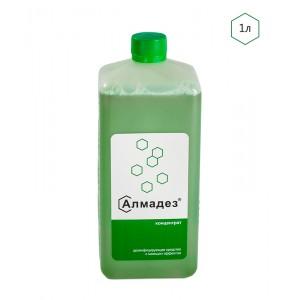Алмадез Дезинфицирующее средство с моющим эффектом. Концентрат. 1л.