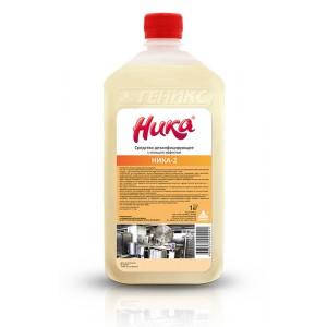 Ника-2 средство для дезинфекции и мойки
