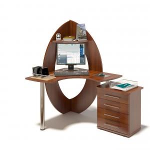 Компьютерный стол КСТ-101 + КТ-102 Правый