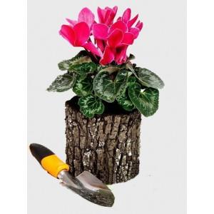 Горшок-цветочница вертикальный S Дуб