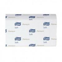 Полотенца бумажные листовые Tork Premium H2 100288 М-сложения 2-слойные