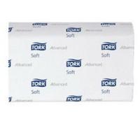 Полотенца бумажные листовые Tork Advanced H2 120288 M-сложения 2-слойные