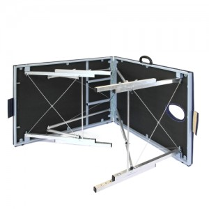 Складной массажный стол с системой тросов и изменением высоты 190х70 см