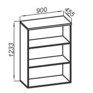 Стеллаж средний широкий 900х450х1233