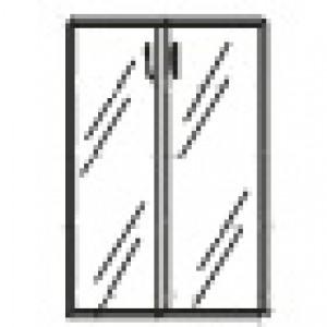 Дверь стеклянная без фурнитуры - Матовое стекло 894х4х1201