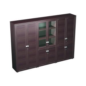 Шкаф комбинированный (одежда- стекло- документы) (27.6x46x198)