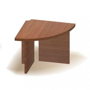 Угловой элемент стола для переговоров (83x83x75)