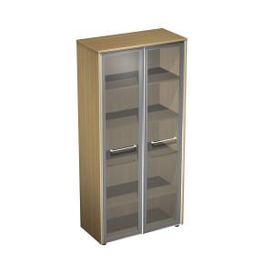 """Шкаф для документов со стеклянными дверями  (94x46x196) """"Reventon"""""""