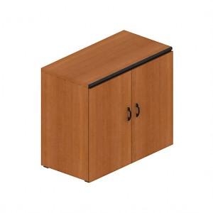 Шкаф низкий двухдверный (90x45x75)