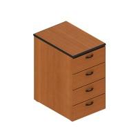 Шкаф низкий широкий, открытый (90x45x75)