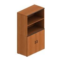 Шкаф книжный полузакрытый (90x45x135)
