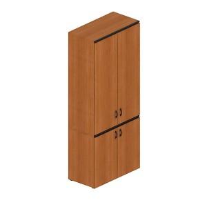Шкаф для документов закрытый высокий (90x45x207)