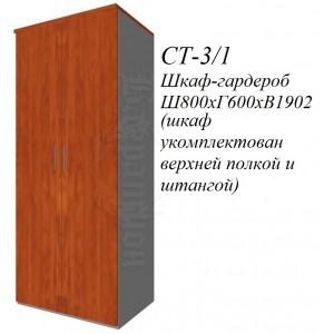 Гардероб 800х600х1932