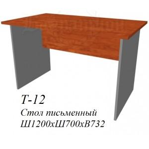 Стол рабочий 1200х700х732