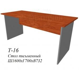 Стол рабочий 1600х700х732