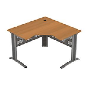 Стол рабочий эргономичный угловой 118x118x75