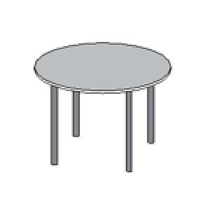 Стол круглый Формула