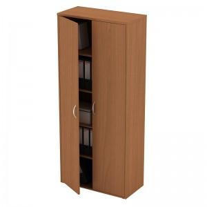 Шкаф книжный закрытый 80x38x186