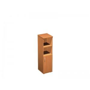 Шкаф для документов узкий полузакрытый 41x45x148
