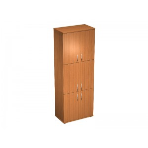 Шкаф для документов 6- дверный 80x45x219