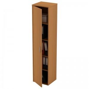 Шкаф для документов узкий закрытый 42x38x186