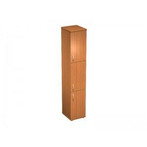 Шкаф для документов 3-дверный узкий 41x45x219