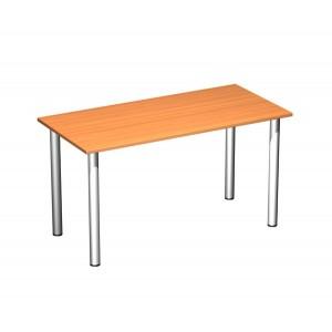 Стол письменный на хромированных опорах 140x67x75