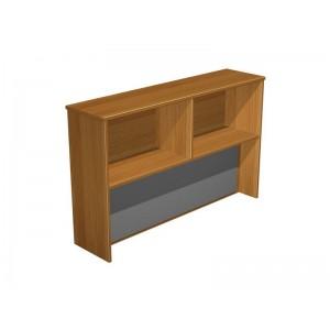Надстройка к столу с тканевой панелью TW40 (синяя) 400х1400х1010