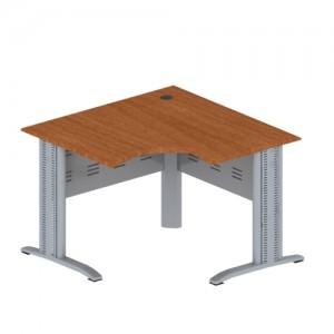 Стол эргономичный угловой на металлокаркасе МЮ 115x115x75