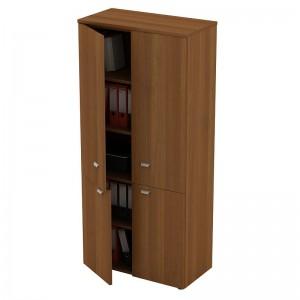 Шкаф для документов закрытый 4-дверный 90x46x197