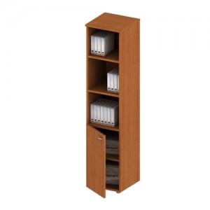 Шкаф для документов полузакрытый узкий 46x46x197