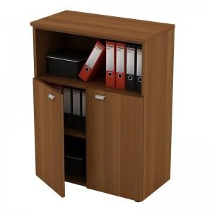 Шкаф для документов средний полузакрытый 90x46x120