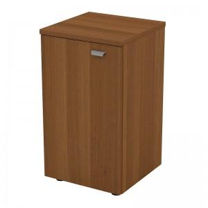 Шкаф для документов узкий низкий закрытый 46x46x82