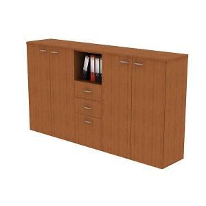 Шкаф комбинированный 225x45x123