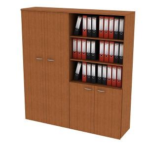 Шкаф комбинированный (4-секционный) 180x45x199