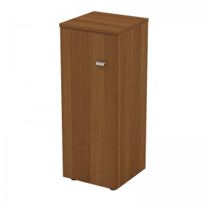 Шкаф для документов средний узкий закрытый 46x46x120