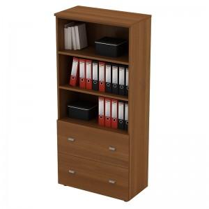 Шкаф для документов с ящиками высокий 90x46x197